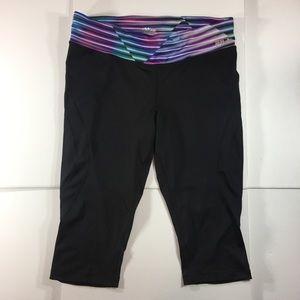 Fila Womens Activewear Capri Leggings (1X / XL)